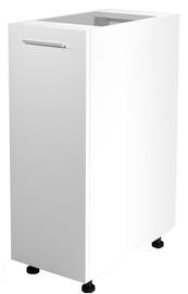 Нижний кухонный шкаф Halmar Vento D-30/82 White/Honey Oak, 300x520x820 мм