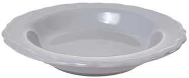 Bradley Ceramic Plate Julia 23cm Grey