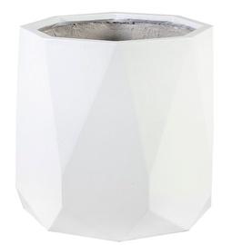 Home4you Sandstone Flowerpot 71813 D42.5xH37cm White