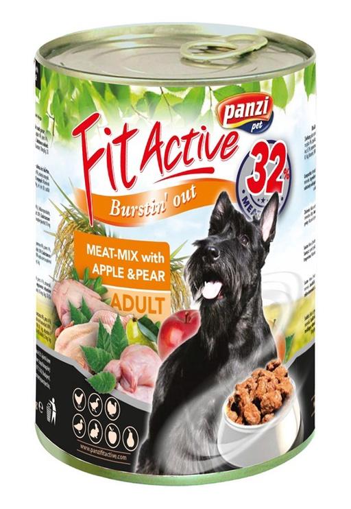 Koerakonserv Panzi Fit Active Meatmix