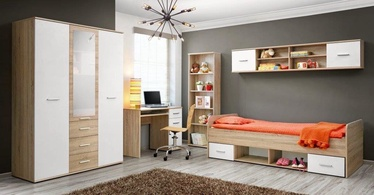 Комплект мебели для детской комнаты ASM Dino IV White/Sonoma Oak