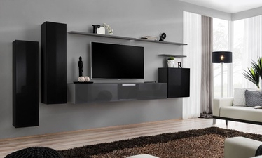 ASM Switch I Wall Unit Graphite/Black