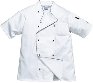 Viesnīcu Tekstils Chef Jacket Short Sleeves M