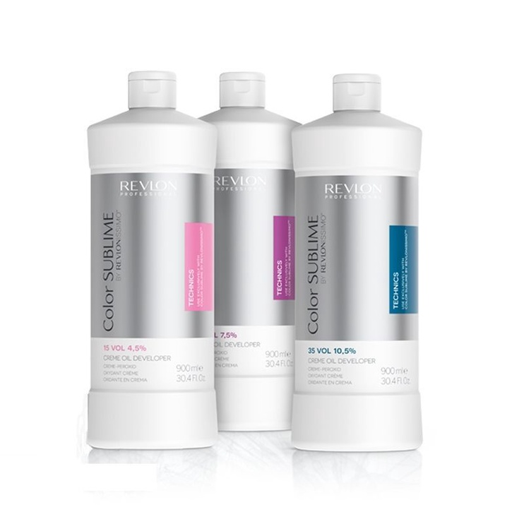 Revlon Revlonissimo Color Sublime Cream Oil Developer 900ml 10.5%