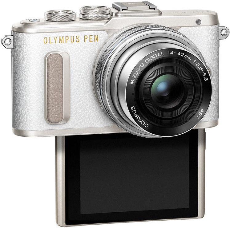 Olympus PEN E-PL8 + 14-42mm White
