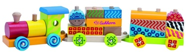 Eichhorn Color Wooden Train 100002223