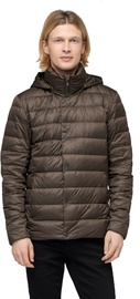 Audimas Lightweight Puffer Down Jacket Turkish Coffee XL