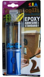Technicqll Standard Amber Epoxy Adhesive Glue 2x12ml