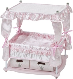 Hauck Princess Doll Bed Pink D90416