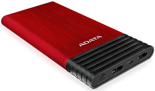 Väline aku A-Data X7000 Red, 7000 mAh