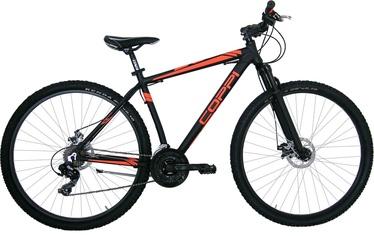 """Jalgratas Coppi CZ1U29724DA.46NA, must/oranž, 18"""""""