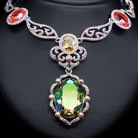 Diamond Sky Necklace Ernesta With Swarovski Crystals