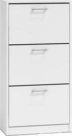 Шкаф для обуви Top E Shop Paula, белый, 600x280x1160 мм