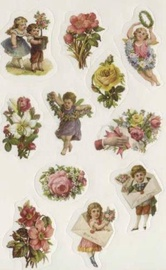 Herlitz Stickers Flower Bouquets