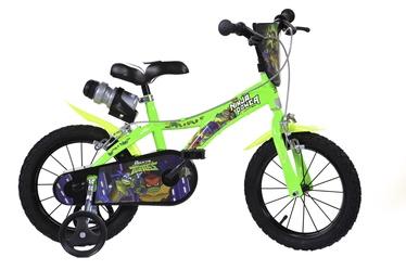 """Laste jalgratas Dino Bikes 614NT, roheline, 14"""""""
