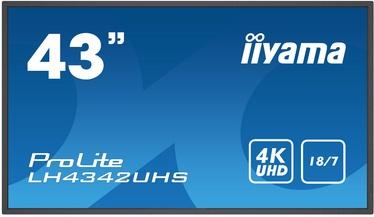 Монитор Iiyama ProLite LH4342UHS-B1, 42.5″, 9 ms