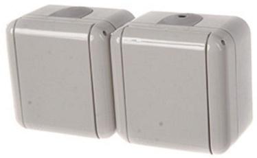 REML 229217000 Double Socket Gray