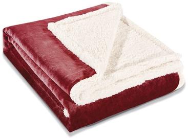 Одеяло DecoKing Teddy Bordo, 220x240 см