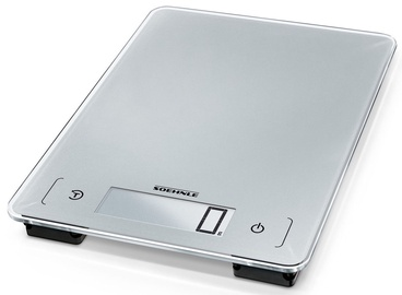 Soehnle Electronic Kitchen Scales Page Aqua Proof Silver