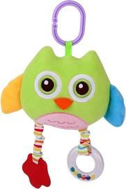 Lorelli Plush Mirror Owl Green
