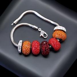 Diamond Sky Bracelet Becharmed Pavé Mini With Swarovski Beads