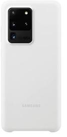 Silicone Cover Galaxy S20 Ultra White