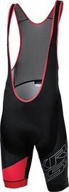 Kross Rubble Bib Shorts Black Red L