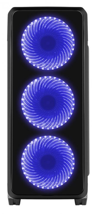 Natec Titan 750 Midi Tower Black/Blue