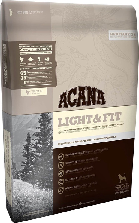 Acana Adult Light & Fit Heritage 2kg