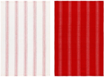 Verners Maku Kitchen Towel 2pcs Red/White