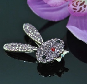 Vincento Brooch With Zirconium Crystal LD-1347