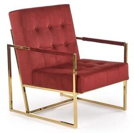 Кресло Halmar Prius Dark Red, 55x54x78 см