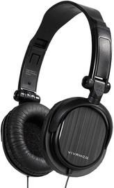Vivanco DJ20 On-Ear Headphones Black