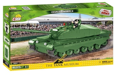 Konstruktor Cobi The Tank Museum Challenger II 2614, 625 tk