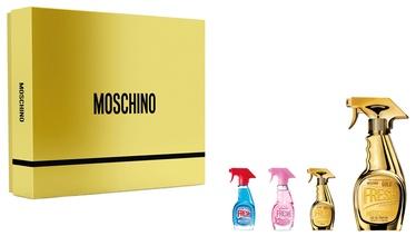 Женский парфюмерный набор Moschino Fresh Gold Couture 4pcs Set 65 ml