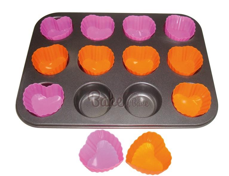 Muffini küpsetusvorm 12 BW12C005