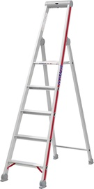 Hymer Step Ladder with Platform Single-Sided 4-Steps