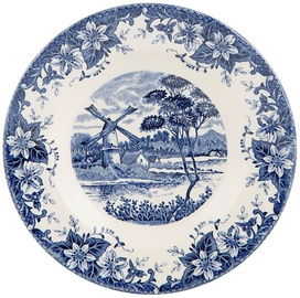 Claytan Windmill Bowl 23.7cm Blue