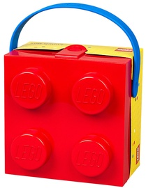 LEGO Lunch Box With Handle Red