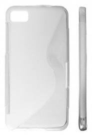 KLT Back Case S-Line Samsung Galaxy Beam Silicone/Plastic White/Transparent