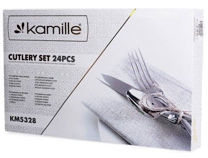 Kamille Cutlery Set 24pcs KM5228
