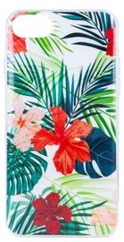Mocco Spring Back Case For Samsung Galaxy S8 Red Lilly