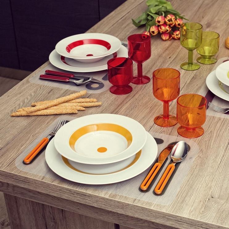 ViceVersa Offset Cutlery Set 4 Blue