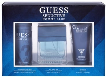 Guess Seductive Blue 100ml EDT + 226ml Body Spray + 200ml Shower Gel