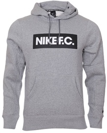 Nike F.C. Mens Football Hoodie CT2011 021 Grey L