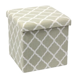 SN Pouf With Storage XYF171848BE Gray With Print