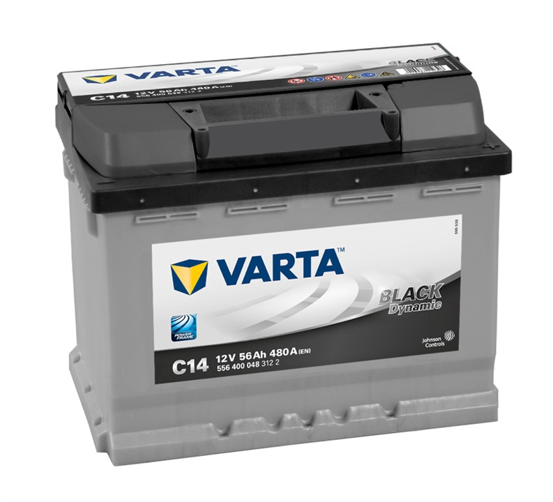 Autoaku Varta BD C14, 56 Ah, 480 A, 12 V