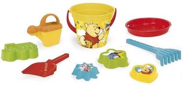 Liivakasti mänguasjade komplekt Wader Winnie the Pooh, mitmevärviline