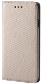 GreenGo Smart Magnet Book Case For Samsung Galaxy J6 J600 Gold