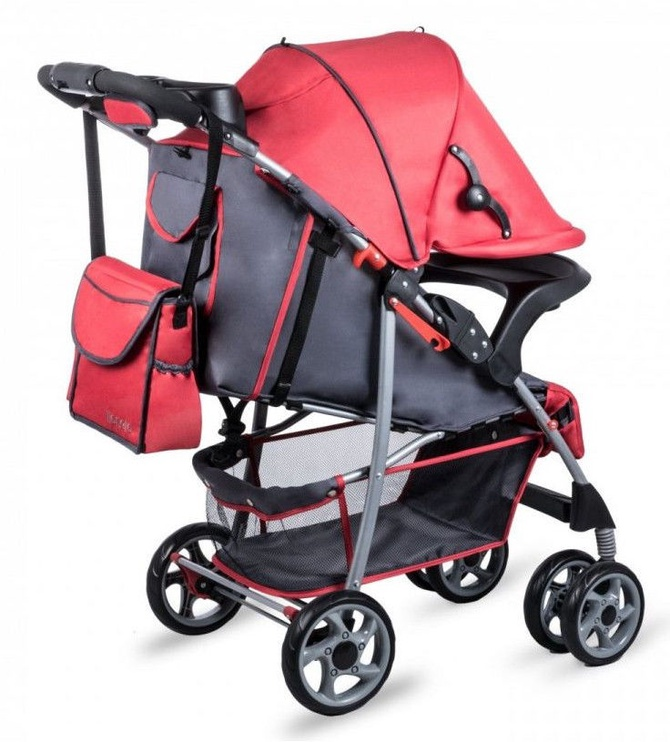 Lionelo Emma Plus Red/Grey
